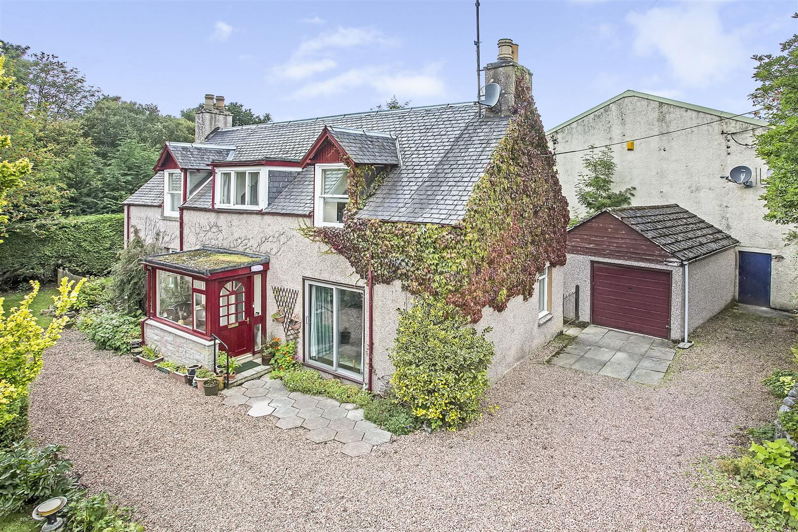 Smithy Cottage, Main Street, Kirkmichael, Blairgowrie, Perthshire, PH10 7NT, UK